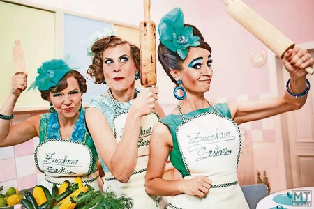 """Zucchini Sistaz"" servieren feinen Swing in Garrel"